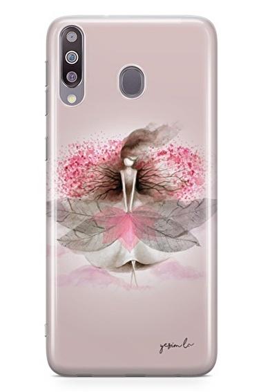 Lopard Samsung Galaxy M30 Kılıf Sakura Kapak Renkli